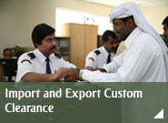 Import and Export Custom Clearance